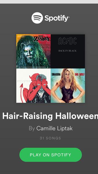 Hair-Raising Halloween Playlist
