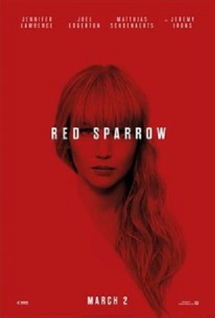 Red Sparrow is a Spy Thriller Nosedive