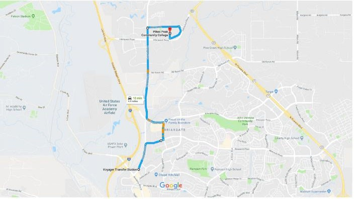 Ppcc Campus Map.Rock The Vote 2018 Ppcc Mountain Metro Connect Students To Their