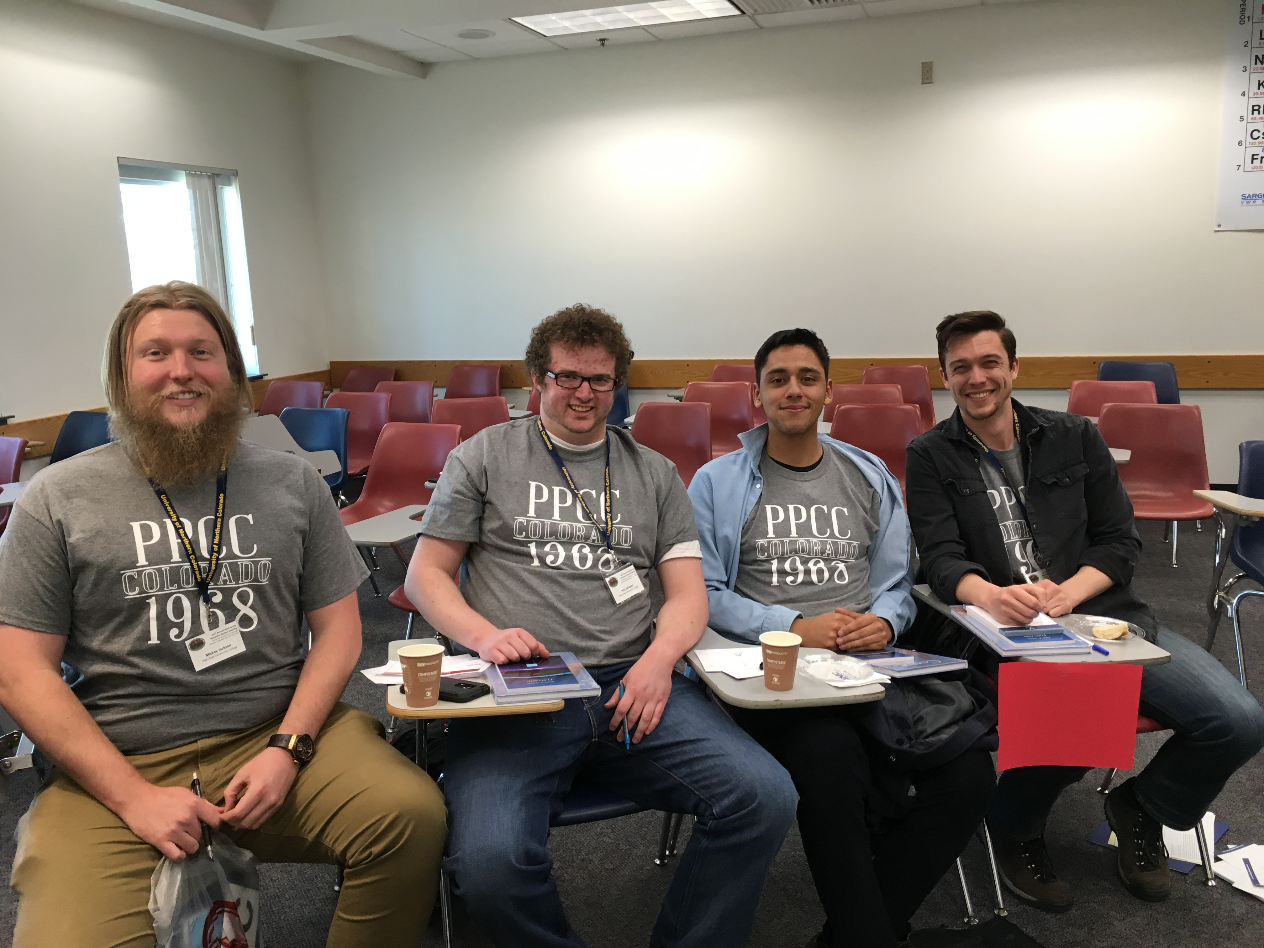 PPCC Wins Quadruple Jeopardy at Mathematics Association Competition