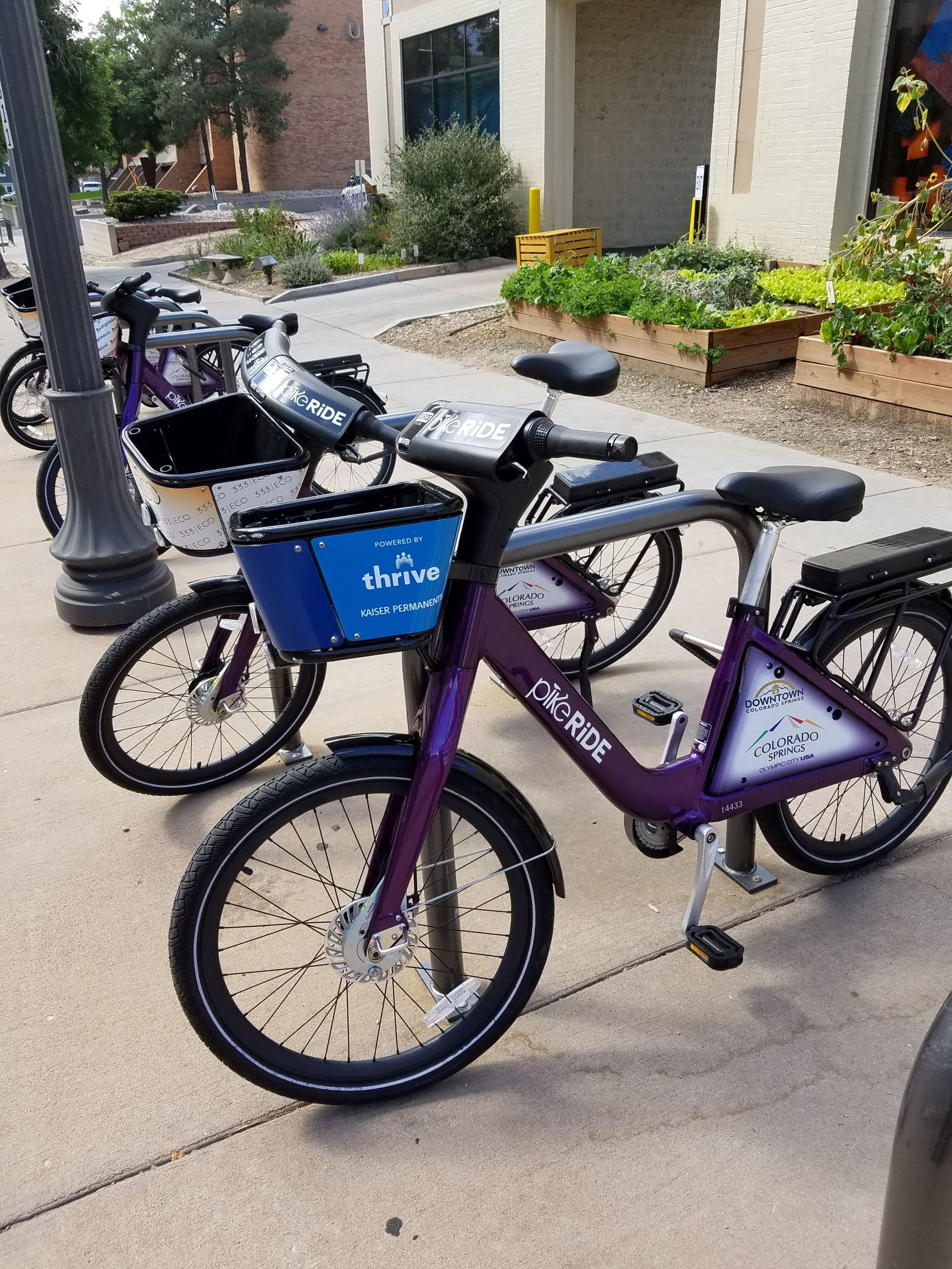 Basket Bikes Connect Students with Downtown Colorado Springs