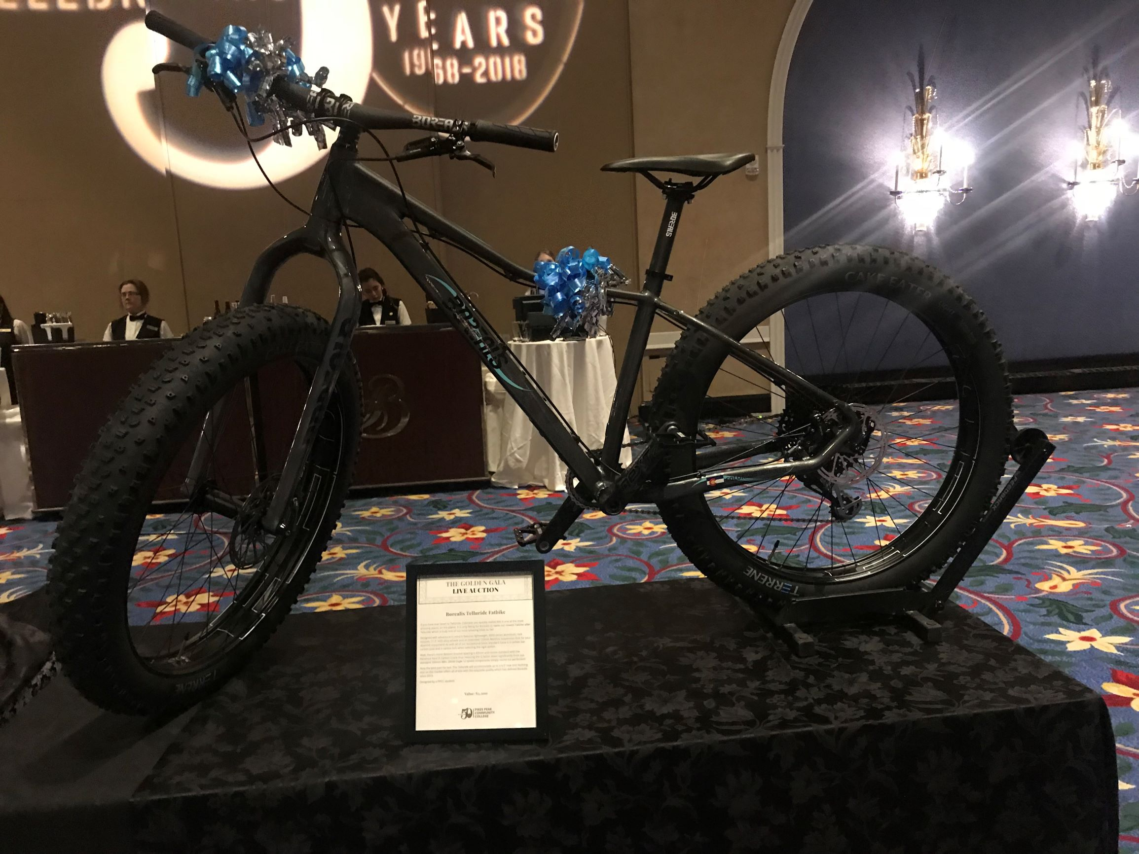 Bicycle centerpiece Donated from Borealis
