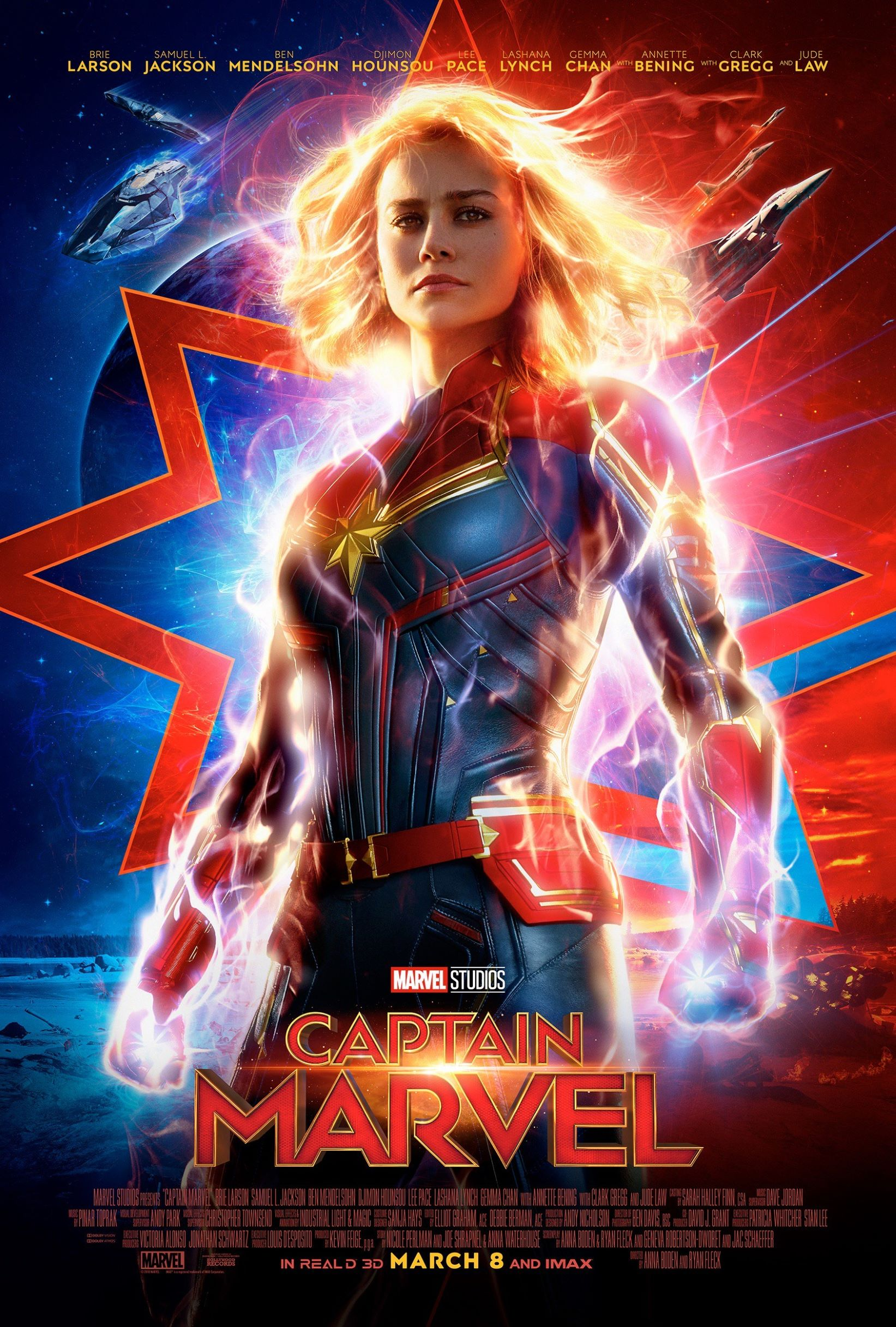 Review: Captain Marvel's gritty heroine relates to movie fans
