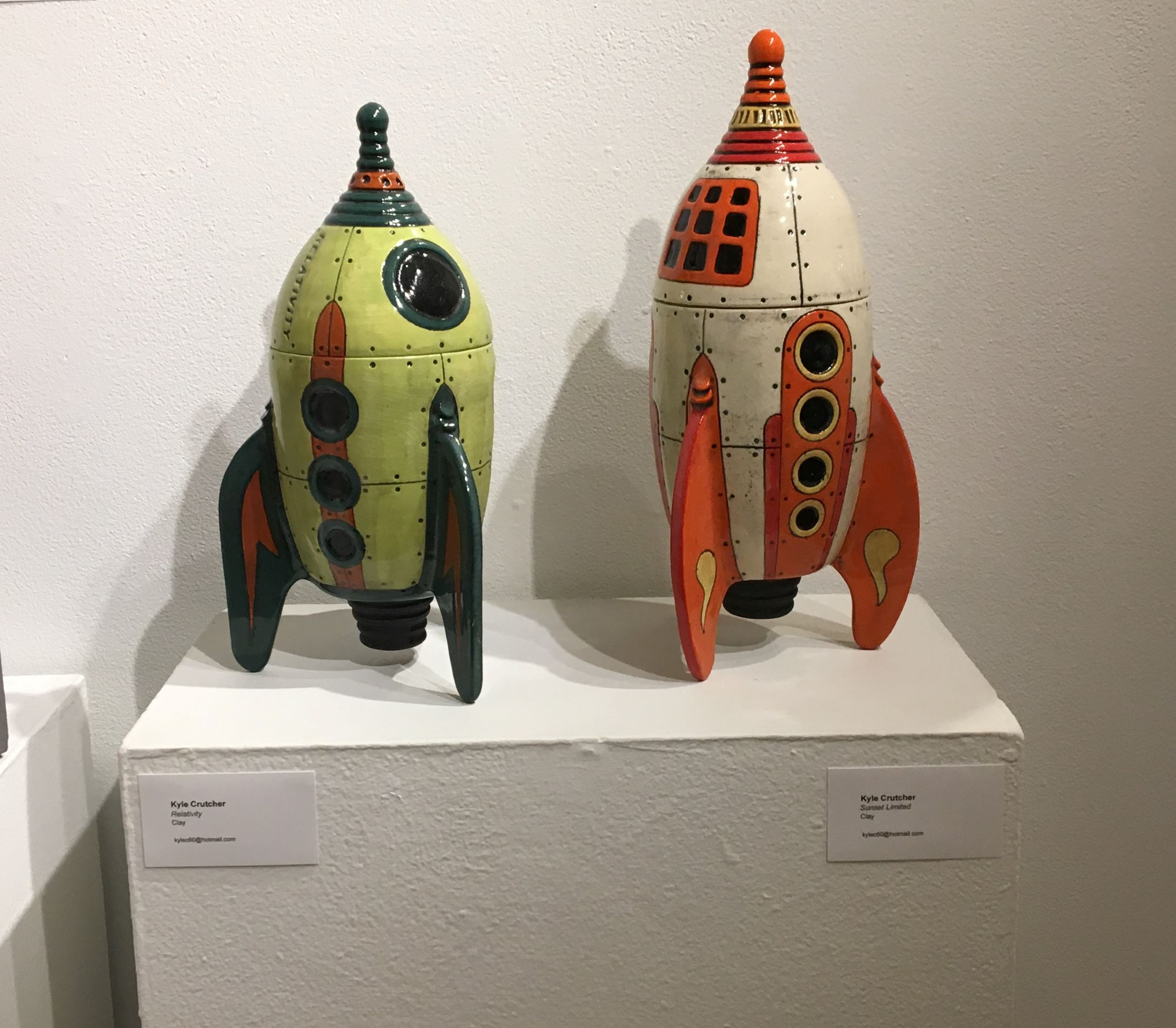 Clay spaceships